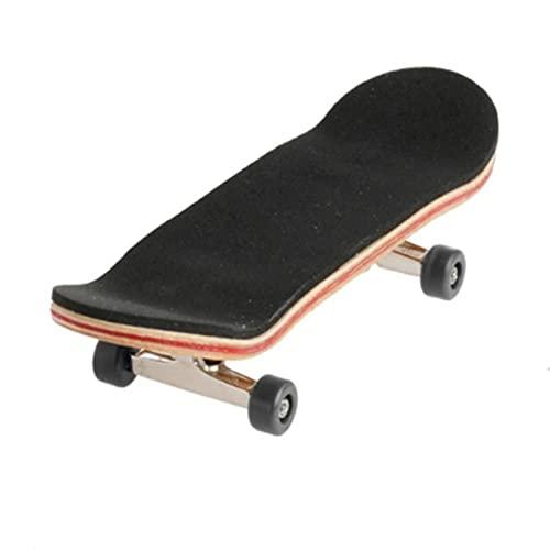 Gaviny Fingerskateboard, 1 Satz Holzdeck Griffbrett Skateboard Sportspiele Kindergeschenk Ahorn Set