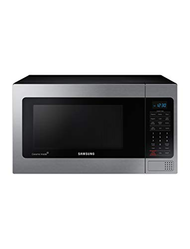 Samsung Electronics MG11H2020CT Countertop Grill Microwave, 1.1 cu. ft, Black with Mirror Finish