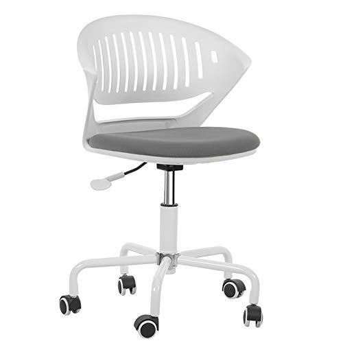 BIAOYU - Sedia ergonomica da ufficio per computer, sedia da casa, stile minimalista, moderna, per apprendimento, sedia da ufficio (colore: A)