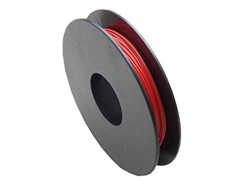 LiYv Schaltlitze, 0,25 mm², Kupfer verzinnt, 25 m Spule, rot
