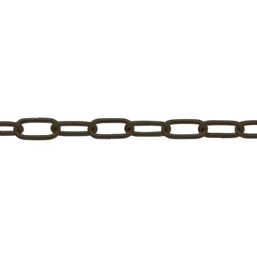 pewag Zier- und Lampenkette Genovese 2 x 15, schwarz, 29801
