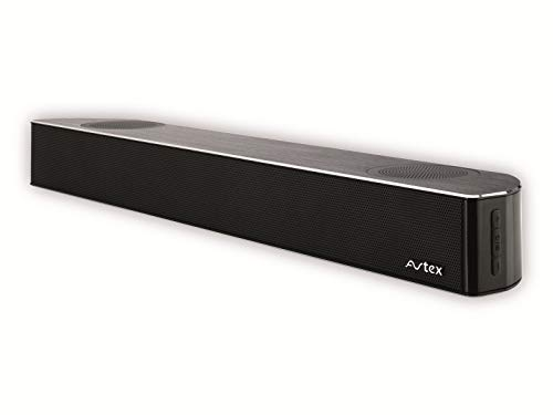 Avtex SB195BT 12/24 V TV-Soundbar und Bluetooth-Lautsprechersystem, Schwarz