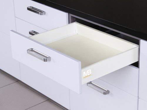 SO-TECH® Schubkastensystem weiß Höhe: 84 mm Tiefe: 500 mm Schublade Schubkasten