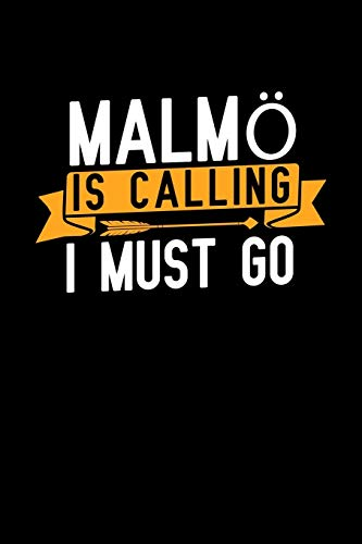 Malmö is calling I Must go: Graph Paper Vacation Notebook with 120 pages 6x9 perfect as math book, sketchbook, workbook and diary