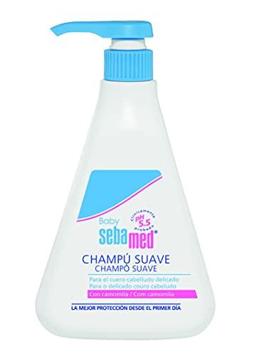 Sebamed - Baby champú suave, para piel fina y delicada del cuero cabelludo infantil, limpieza extra suave cuero cabelludo extremadamente sensible, 500 ml