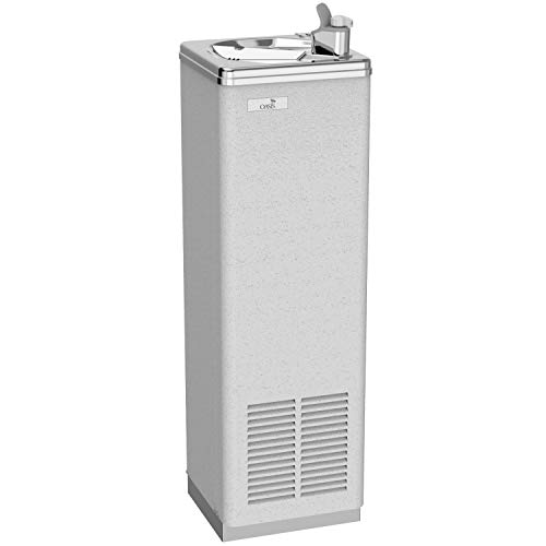 Oasis P5CP Freestanding Refrigerated Drinking Fountain, Greystone