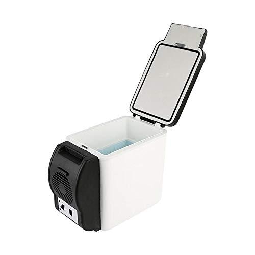 BJLWTQ 6L 48W Mini Coche Refrigerador de refrigerador Caja de Aislamiento de Calor portátil Vehículo refrigerador Refrigerador Frigorífico Congelador para Viajes de Campamento