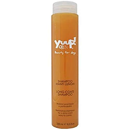 Yuup Shampoo Manti Lunghi - Ridona lucentezza e pettinabilità, per cani