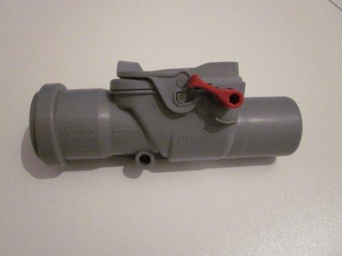 Kessel 73050 Rückstauverschluss Staufix DN 50 für Grauwasser