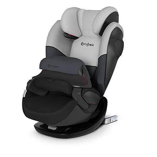 Cybex Seggiolino Auto 2 In 1 per Bambini Pallas M-Fix, per auto con e Senza Isofix, Gruppo 1/2/3 (9-36 kg), Collezione Colori 2019, Cobblestone