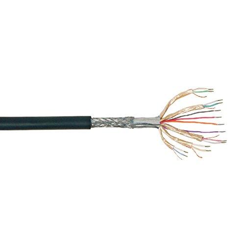 Transmedia Loses HDMI + DVI Kabel AWG26 zu Konfektionierung ohne Stecker, 50m auf Rolle