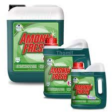 AMONIA FRESH LIMPIADOR AMONIACADO MULTISUPERFICIES Detergente con extracto de amoniaco y perfume pino fresh. Buen desengrasante e higienizante para la limpieza de superficies lavables .Garrafa 2lt