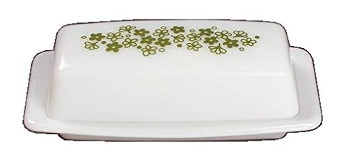 Corning Ware / Pyrex Spring Blossom ( Quarter Pound Covered Butter Dish )