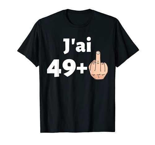 50 Ans Anniversaire Homme Femme Cadeau Déco Humour 1970 T-Shirt