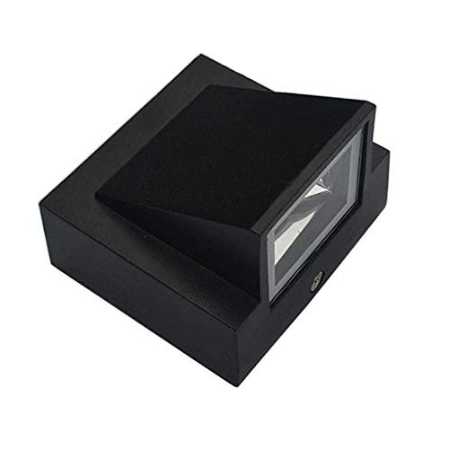 ZHBH Aplique de Pared Lámparas de Pared LED para Sala de Estar Iluminación Interior Moderna Arriba Abajo Corredor Cocina Luz de Exterior 3W * Aplique de Pared LED Impermeable Puerta Exterior de e