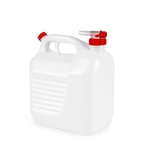 Wasserkanister mit Entlüftung, Wasser Kanister, Wassertank, Camping, Outdoor, 5 Liter, RACEFOXX