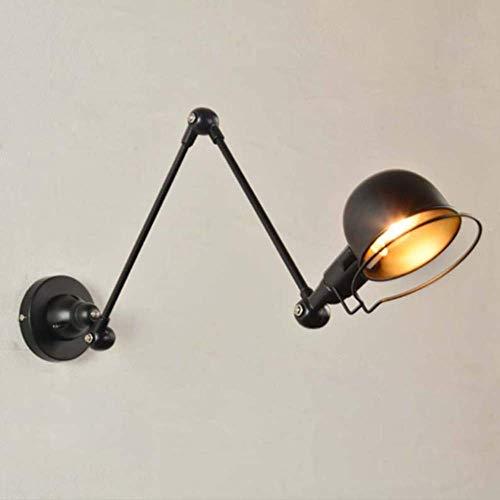 Industrielle Vintage Wandleuchte ausziehbar Langarm Retro Wandlampe Industrielle Wandlampe Wandlampe Wandlampe verstellbar Lager-