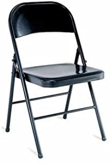 Mainstay Steel Chair, Set of 4, Multiple Colors