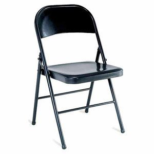 Mainstays Steel Chair, Set of 4, Multiple Colors