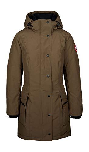 Canada Goose Damen Daunenparka Kinley Military Green - L