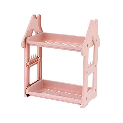 Sunfauo duschkorb duschablage Duscheckenregale Duschwanne freistehend Duschregal Dusche Caddy Ecke verstellbare Duschablage kein Bohrduschwagen pink
