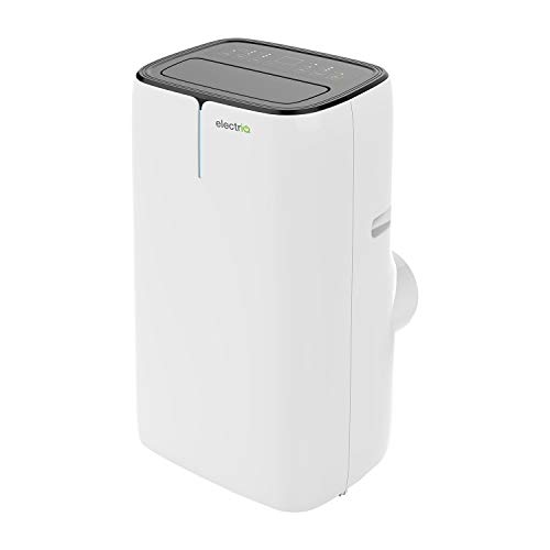 electriQ 14000 BTU Smart WiFi App Portable Air Conditioner with heatpump for Rooms up to 38 sqm - Alexa Enabled