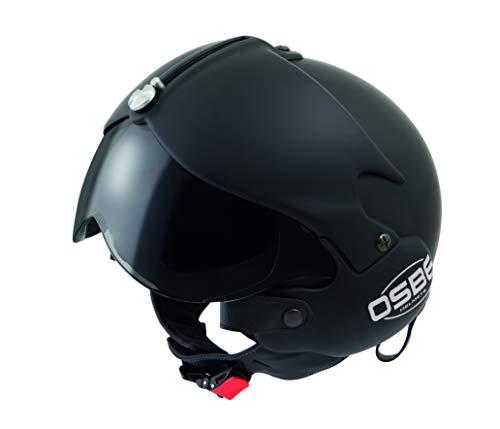 OSBE casco de Moto DJ Tornado Mat Green GR S