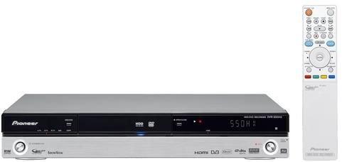 Pioneer DVR-550 HX Lettore + Registratore DVD