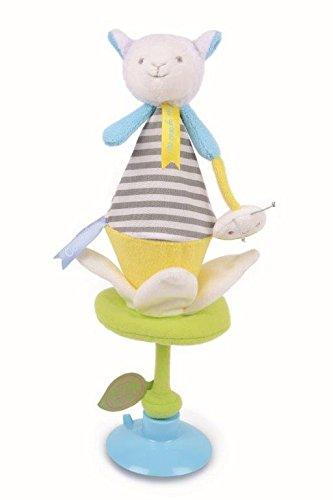 Doudou et Cie - Doudou Doudou et Compagnie mouton fleur marionnette cache cache marotte DC2675-7067