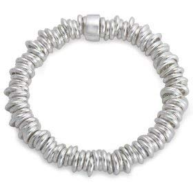 The Olivia Collection Sterling Silver 54gram Candy Bracelet