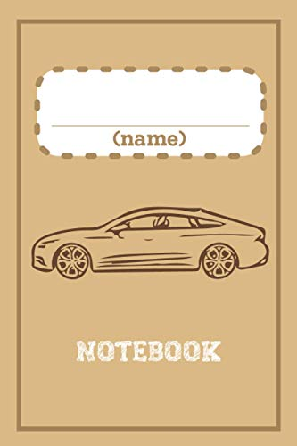 Personalized with place for Child Name Notebook, Gift idea: Vintage Style, For...
