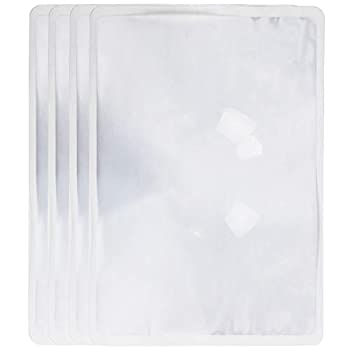 Iconikal Large Full Page Fresnel Lens Magnifying Sheet 7.5 x 10.5-inch 4-Pack