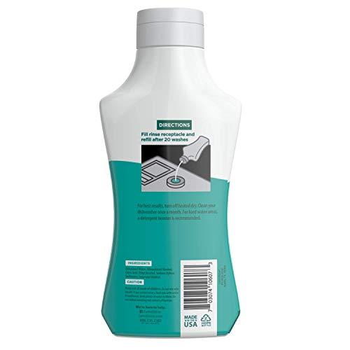Lemi Shine Natural Dishwasher Pods, 65 Count, Plus Shine and Dry Natural Dishwasher Rinse Aid, 3 Pack of 8.45oz - Dishwasher Bundle Pack