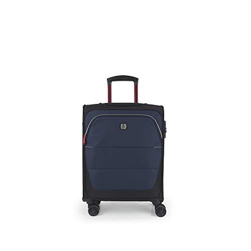Gabol - Concept | Maleta de Cabina de Tela de 44 x 55 x 20 cm con Capacidad para 34 L de Color Azul