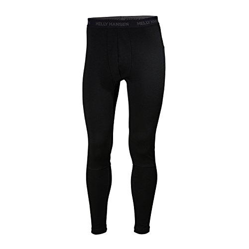 Helly Hansen Lifa Merino Pant - Performance Base Layer Pant for Men, Insulation and Comfort, Black, Small 48320