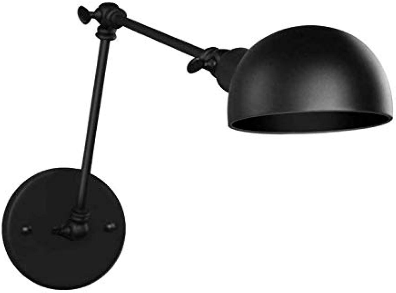 Chandelierindustrial Wandleuchte Innenbeleuchtung Wandleuchten Mehrarmige Beleuchtung (Glühlampe nicht enthalten), Schwarz
