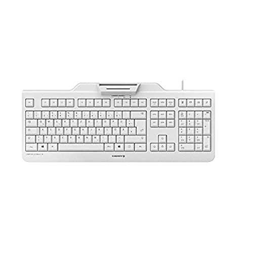 CHERRY Secure Board 1.0 Clavier USB QWERTZ Allemand Gris