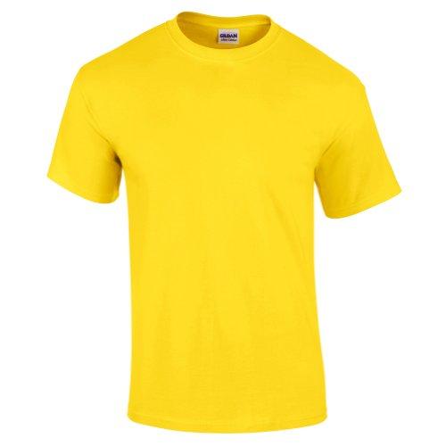 Gildan Herren Ultra Cotton T-Shirt 2000 Cornsilk S