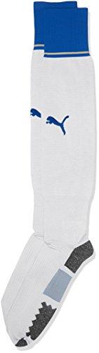 PUMA Herren Stutzenstrümpfe FIGC Italia Away Socks Replica Stutzen, White, Team Power Blue, 1