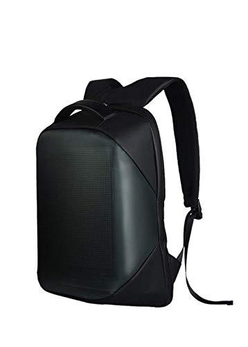 Naliovker 5V Led Dynamische Anzeige Wifi Rucksack Laptop Notebook Control 22L Schul Tasche Wasserdichte Led Rucksack Tasche für Werbung