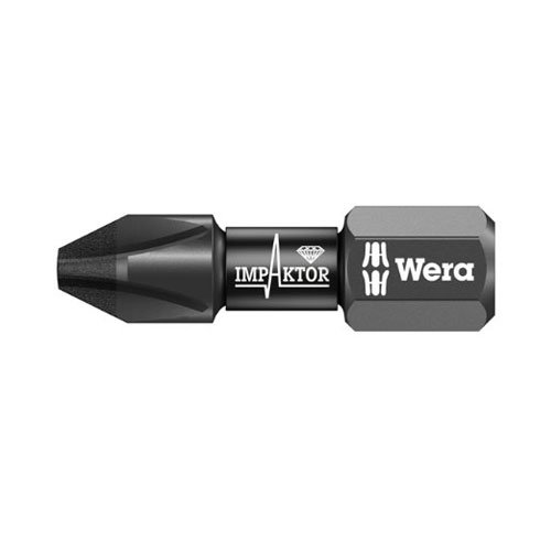 Wera 05057617001 851/1 IMP DC Impaktor Bits PH 3x25