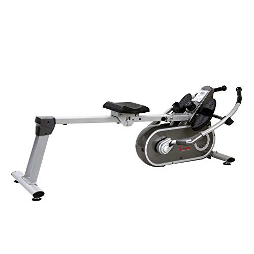 Sunny Health & Fitness SF-RW5624 Full Motion Magnetic Rowing Machine Rower w/LCD Monitor