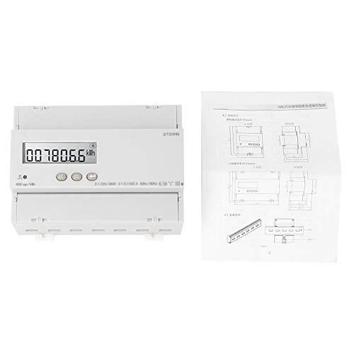 Dreiphasen-Vierleiter-LCD-Stromzähler zur Stromschienenmontage für Messgeräte(Ohne Kommunikation)