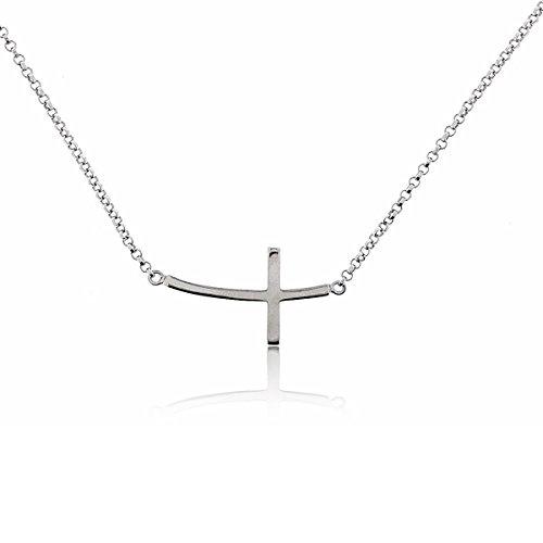 Sovats Damen Seitlich Kreuz-Halskette