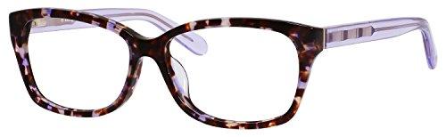 Kate Spade Demi/F Eyeglasses-0EZ2 Plum Havana Lavender -54mm