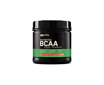 Optimum Nutrition Instantized BCAA Powder, Keto Friendly Branched Chain Essential Amino Acids, 5000mg, Orange, 40 Servings, 13.4 Ounce
