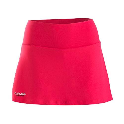 Duruss Rock_001 Falda Técnica, Mujer, Rojo, L