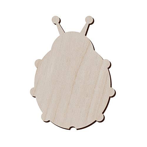 Juego de 10 mariquitas de madera para manualidades y decoración – Forma de mariquita –...