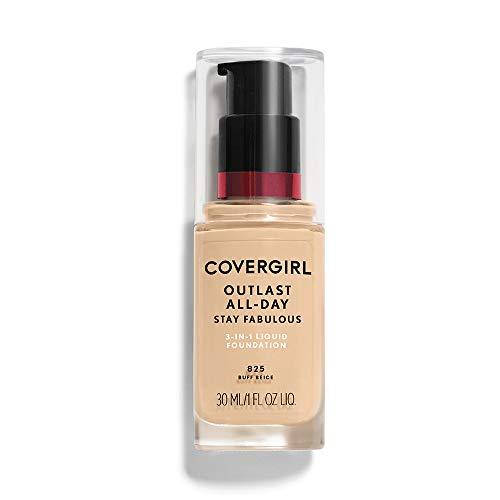 COVERGIRL - Outlast Stay Fabulous 3-in-1 Foundation Buff Beige - 1 fl. oz. (30 ml)