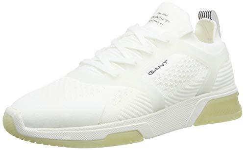 GANT Footwear Herren HIGHTOWN Sneaker, Weiß (Off White G20), 44 EU